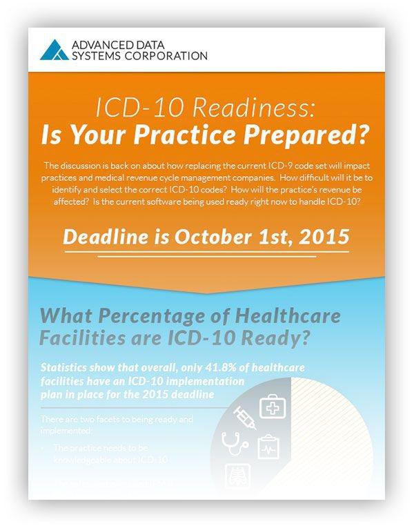 [Infographic Sneak Peek] ICD-10 Readiness