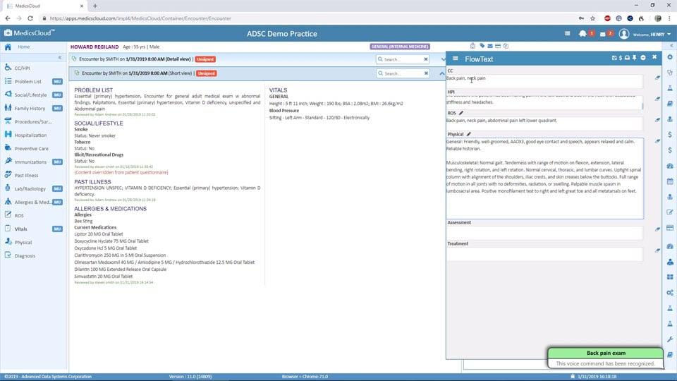Click-Free-EHR-Software
