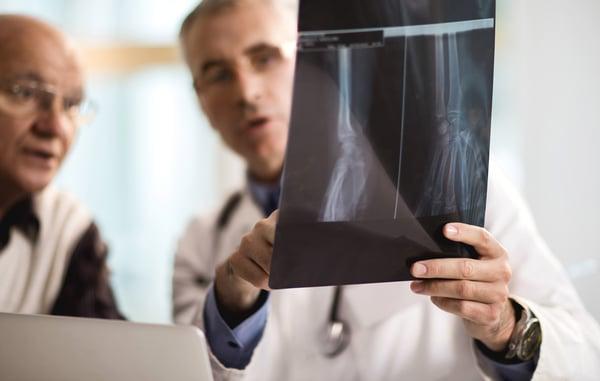 radiology systems examining x-ray