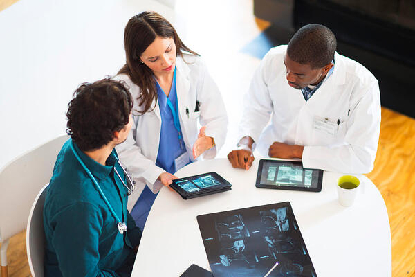 doctors using Radiology Information System for Electronic medical record