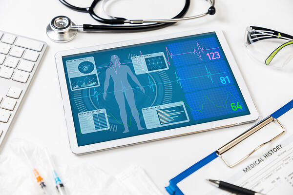 Radiology Information systems using FlowText to transcribe medical information